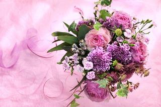 flower arrangement by tefutefu