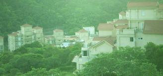 台北 丘の上からの別荘地