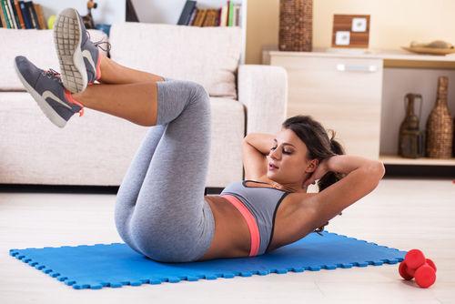 体幹トレーニングの基本5メニューで、劇的に体型を変える!