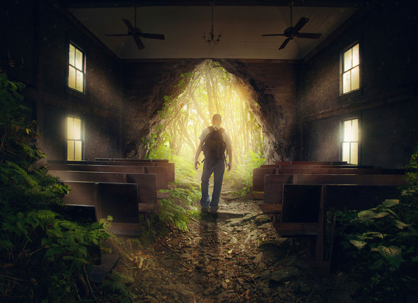 a-man-leaves-from-an-empty-church-in-the-forest_S7Bi-JzeR