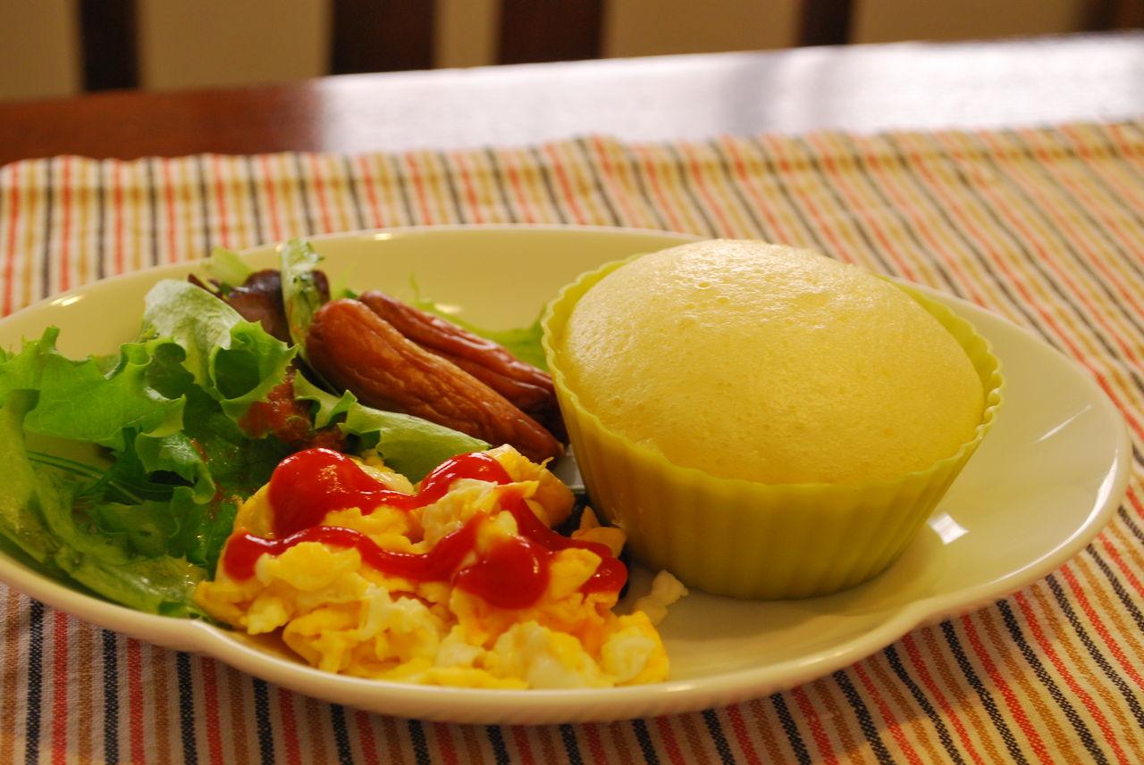 DSC_0009蒸しパン朝食