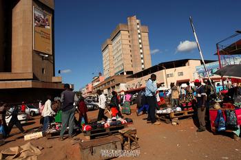 Kitwe-Zambia-Market
