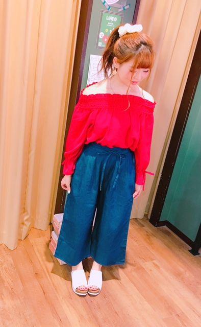 NEW☆オフショル