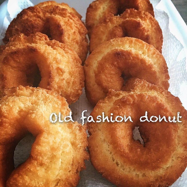 1つ20円♪ミスドみたいなオールドファッションドーナッツ