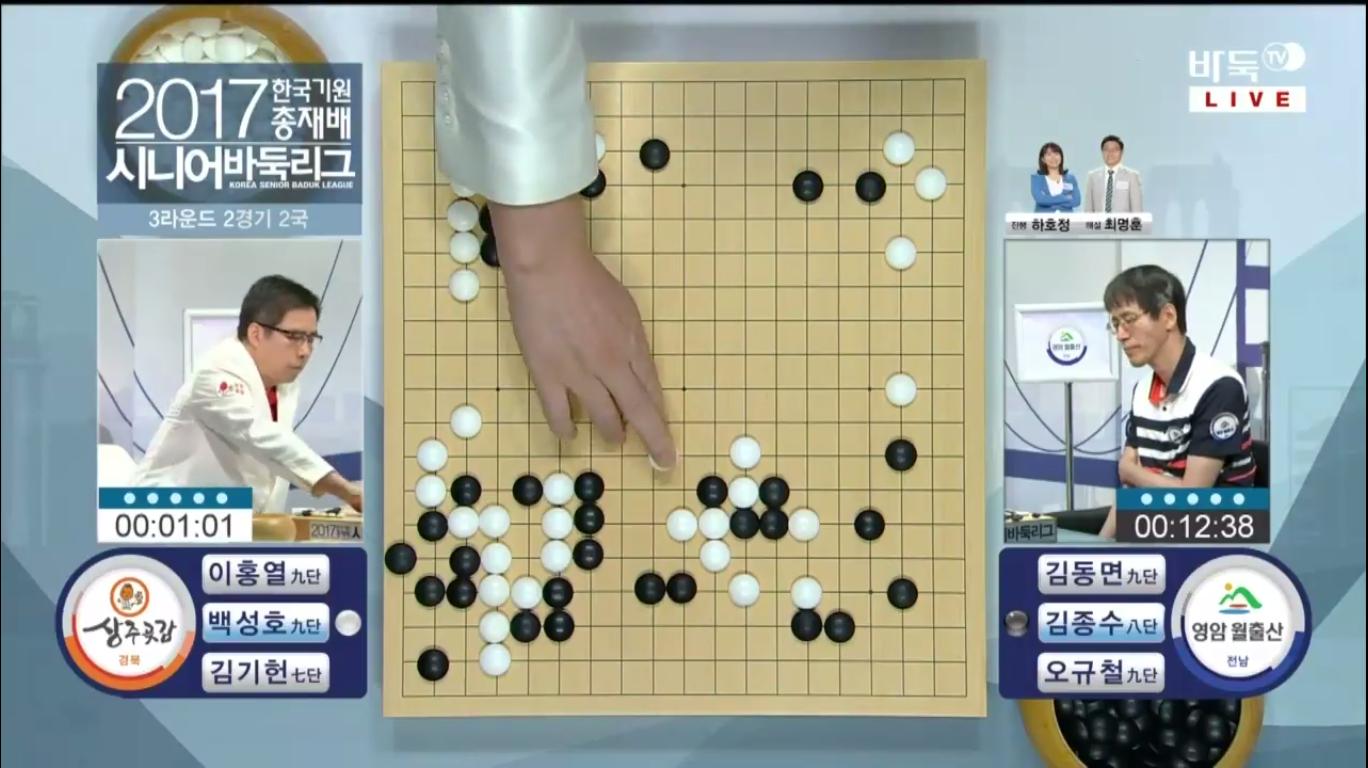 韓国棋院総裁杯シニア囲碁リーグ
