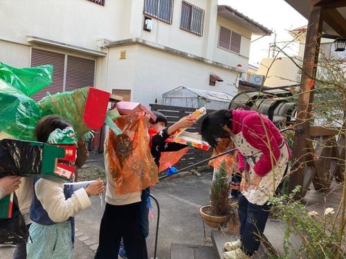 2021/1/7 冬休み 獅子舞ごっこ_210111_4
