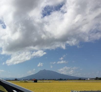 9月黒石岩木山