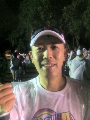 ホノルルマラソン2011スタート前