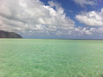 天国の海 サンドバー