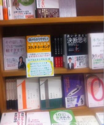 紀伊國屋書店新宿本店3F スケッチ・トーキング