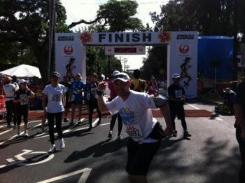 ホノルルマラソン2011完走
