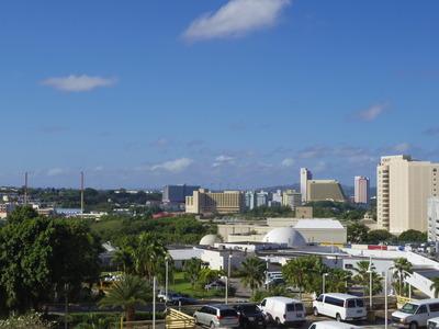 グアムプラザホテルからの景色