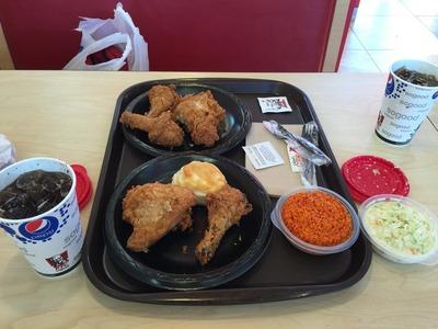 KFCのチャモロプレート