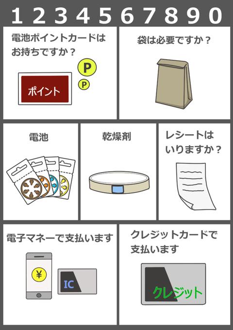 補聴器屋さん用コミュニケーションボード (2)