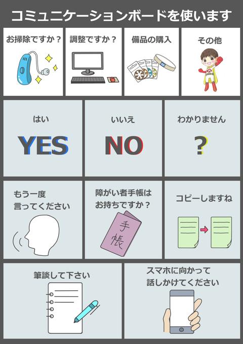 コミュニケーションボード【あいち補聴器センター用】 (2)