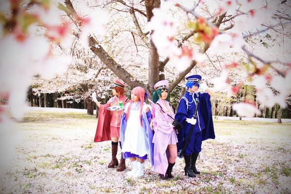 【VOCALOIDコスプレ写真〜千本桜〜】其の壱