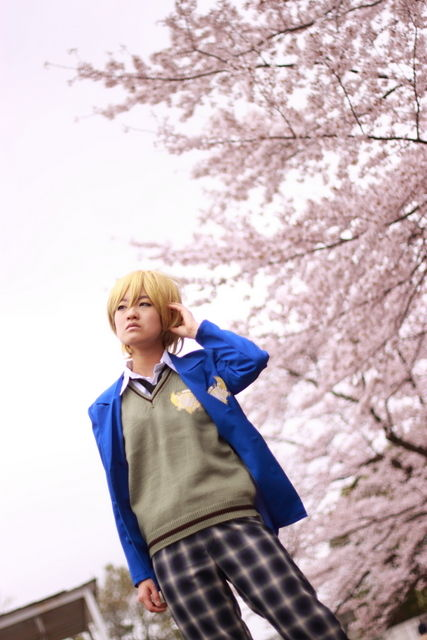 【APH】お花見あわせ《アサ菊》その1(ピン写編)