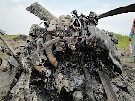 羽田空港の地中に機体残骸