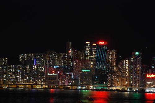 香港島夜景02