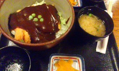 岡山・デミかつ丼