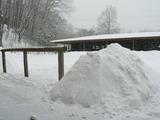 積雪40cm超え