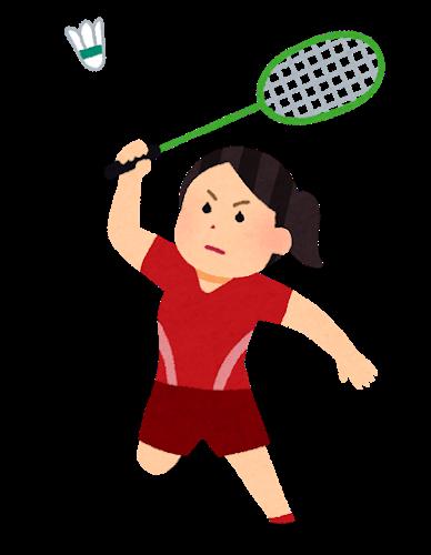 sports_badminton_woman