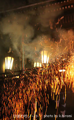 2010東大寺二月堂お水取り。