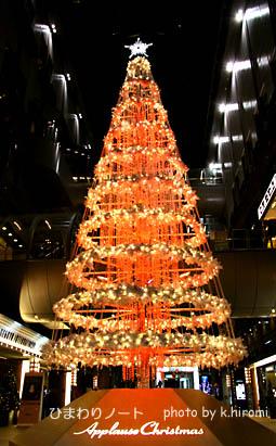 2009アプローズクリスマスツリー。