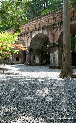京都南禅寺の水路閣。
