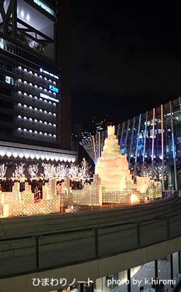 グランフロント大阪のクリスマス。