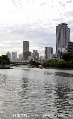 大阪・大川。