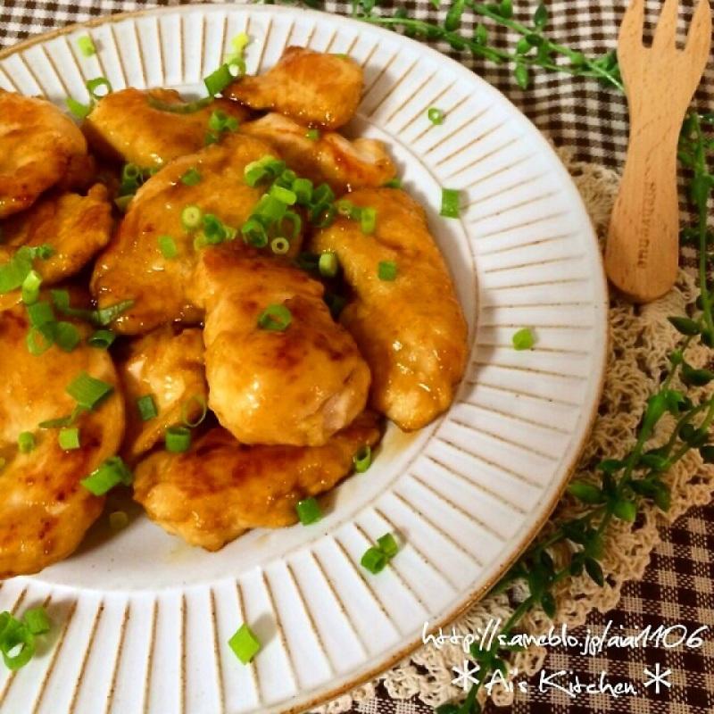 ご飯が進みすぎる♡簡単鶏むね肉のしっとり南蛮焼き♡
