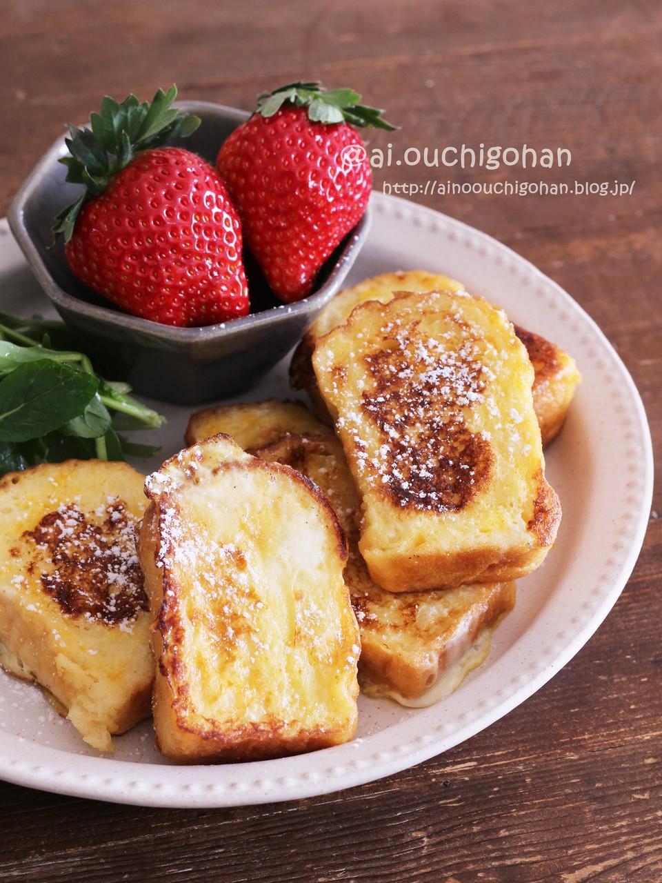 レンジ フレンチトースト 【みんなが作ってる】 フレンチトースト