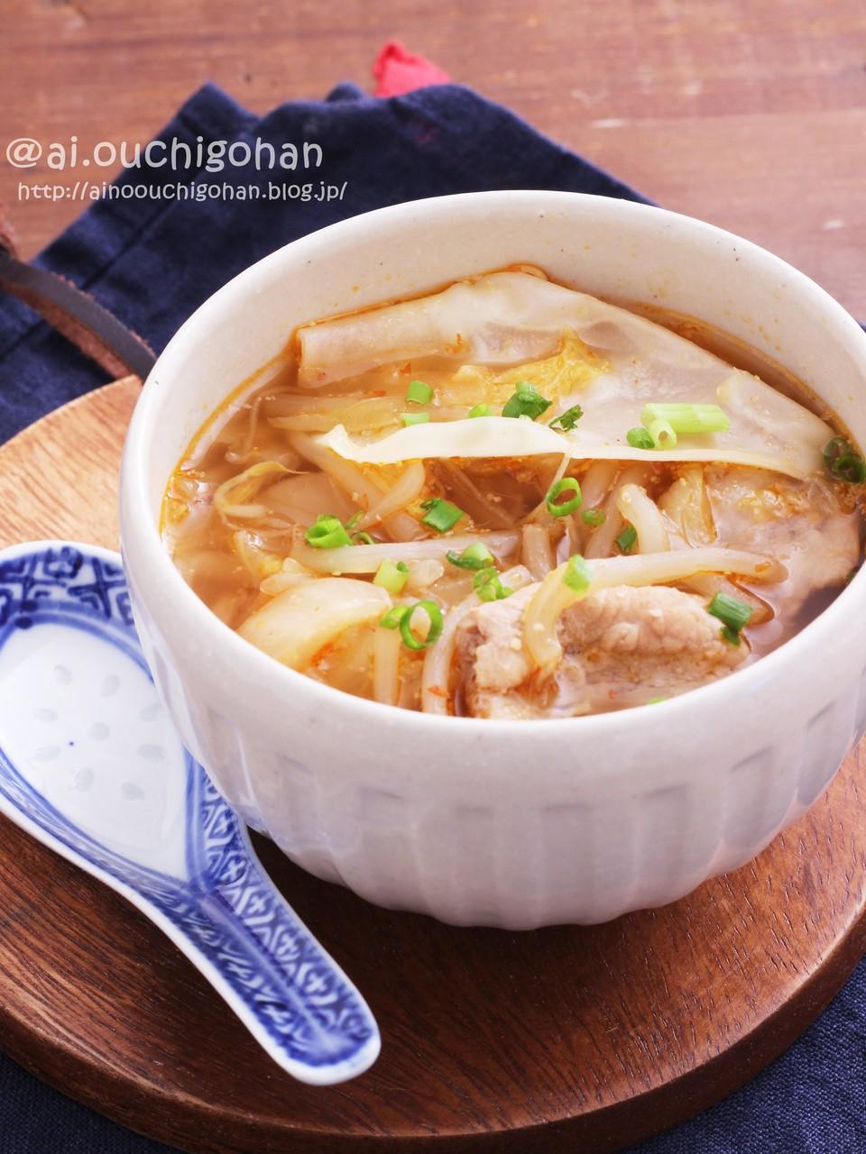 もやし スープ 白菜