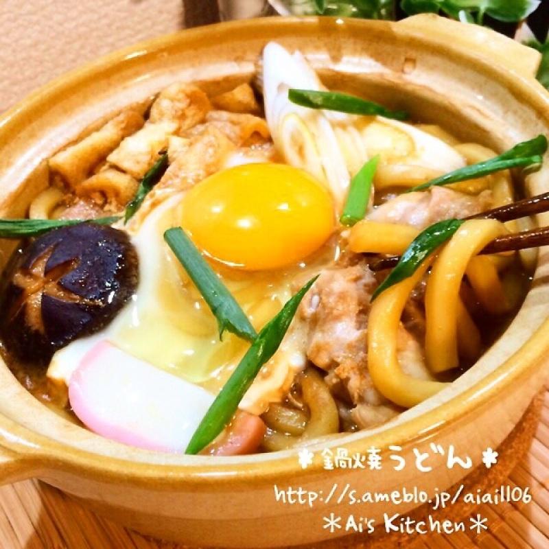 ♡お知らせ♡鍋部♡茅乃舎さんの野菜出汁で鍋焼きうどん♡