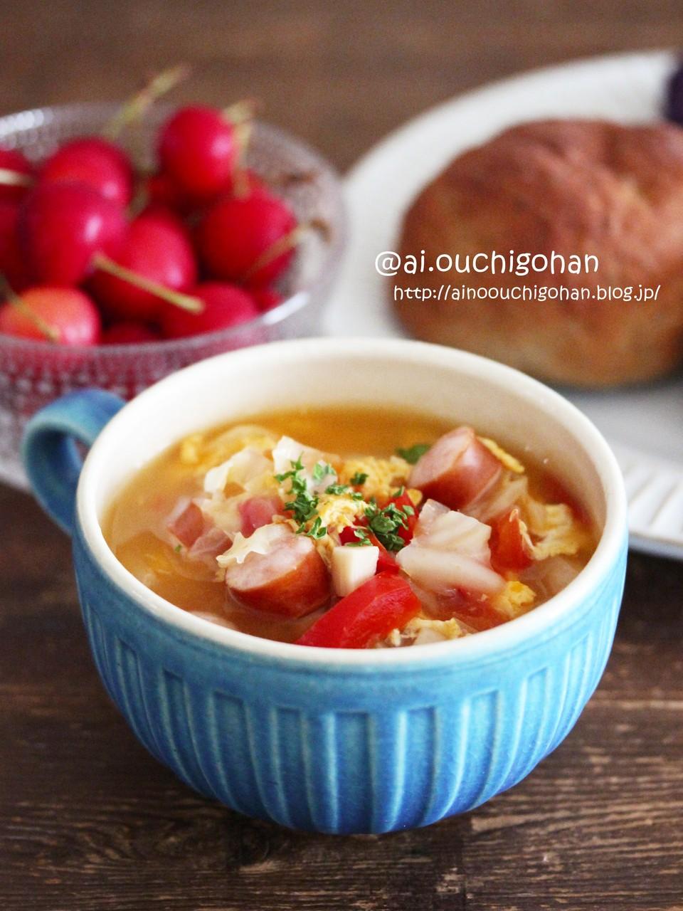沢山 スープ 具