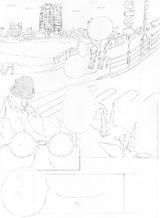 漫画『真夜中のクワドラブル』下描き進捗/101213