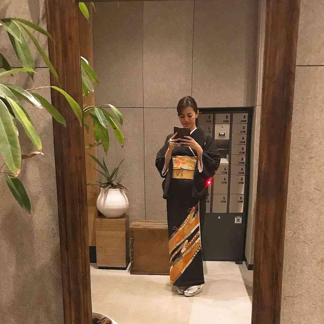 中林美和の着物画像