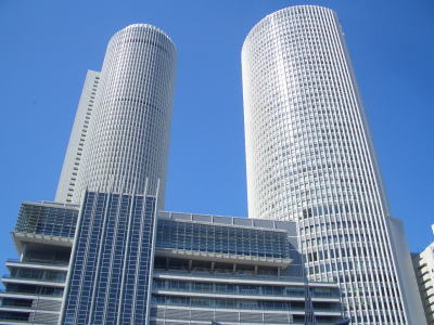 名古屋市中村区のツインタワー