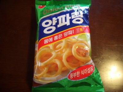 名古屋駅にある韓国食材専門店ナリタの韓国のお菓子