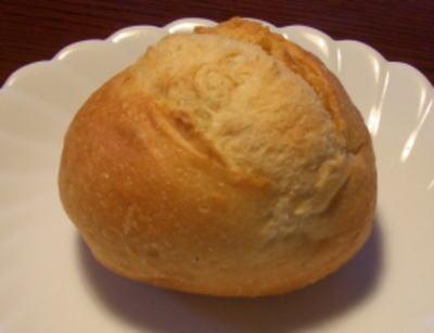 カンテボーレの丸いフランスパン