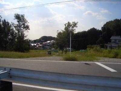 名古屋市側の行き止まりの先