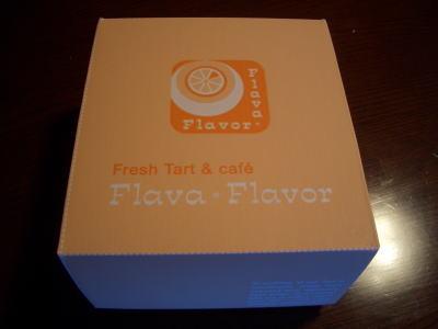 フレイバ・フレイバーのお持ち帰り用ケーキ入れ箱