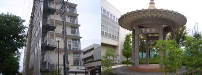 名古屋産業大学の構内