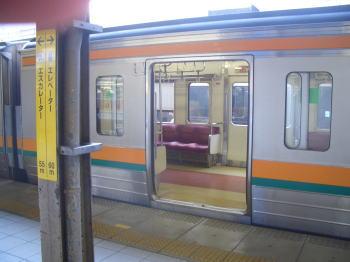 春日井市の高蔵寺駅からJRに乗る