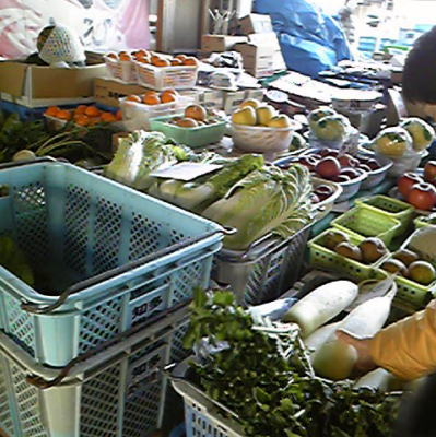 青果物売り場