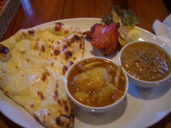 インド料理店 Bindi(ビンディー)のランチタイムメニュー