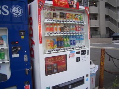 名古屋市北区にあるダイドーの自販機