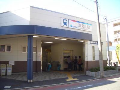 名古屋市守山区にある瓢箪山駅