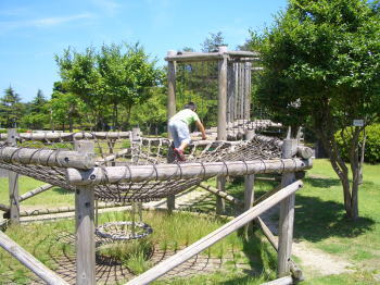 瀬戸市交通児童遊園の遊具